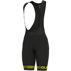 Alé Cycling Graphics PRR Strada Bib Shorts Dames, black/fluo yellow